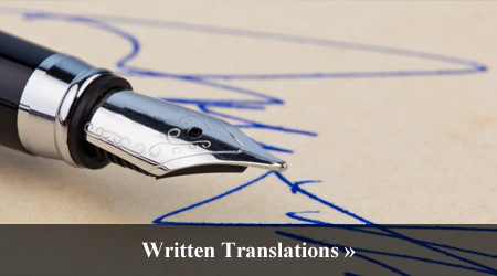 Written Translations